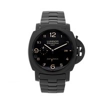 Panerai Luminor 1950 3 Days GMT Automatic Ceramic 44mm Black Arabic numerals United States of America, Pennsylvania, Bala Cynwyd