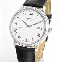 Montblanc Tradition Steel 40mm White