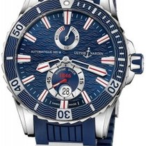 Ulysse Nardin Diver Chronometer new Automatic Watch with original box and original papers 263-10-3/93