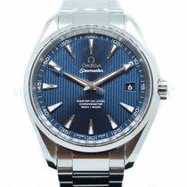 Omega Seamaster Aqua Terra Steel 41.5mm Blue No numerals Singapore, Singapore