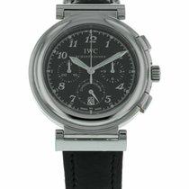 IWC Da Vinci Chronograph pre-owned 36.5mm Leather