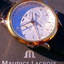 Maurice Lacroix Stahl 40mm Quarz LC1008 gebraucht