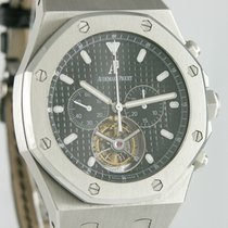 Audemars Piguet Royal Oak Tourbillon Staal 46mm Zwart