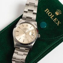 Rolex Air King Date Acél 34mm Ezüst Számjegyek nélkül