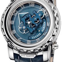Ulysse Nardin Freak White gold Blue United States of America, New York, Brooklyn