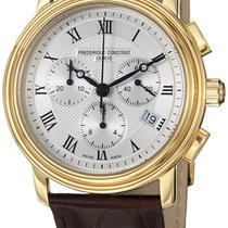 Frederique Constant Classics Chronograph 42.7mm Silver United States of America, New York, Brooklyn