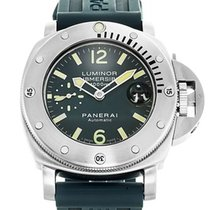 Panerai Luminor Submersible 1000M PAM00087 Stainless Steel...