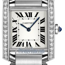 Cartier Tank Française new 2021 Quartz Watch with original box w4ta0009