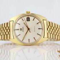 Omega Vintage 750/18K Gelb Gold Automatic