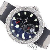 Ulysse Nardin Maxi Marine Diver Chronometer 1846 Rubber Strap...