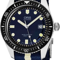 Oris Divers Sixty Five new Automatic Watch with original box and original papers 73377204055LS29