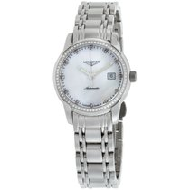 Longines Saint-Imier Steel 30mm Mother of pearl United States of America, New York, Brooklyn