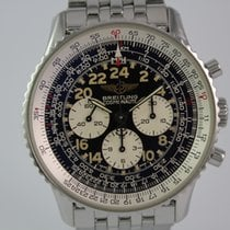 Breitling Navitimer Cosmonaute A12023 #A3558 Pilotband, Box