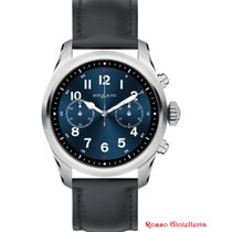 Montblanc Summit 2 Smartwatch 42mm  - 119439 - Acciaio Pelle