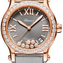 Chopard Happy Sport Rose gold 36mm Grey United States of America, New York, Airmont