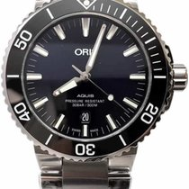 Oris Aquis Date new Automatic Watch with original box and original papers 01 733 7730 4135