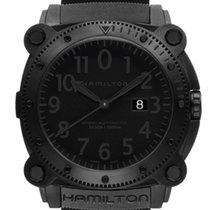 Hamilton Khaki Navy BeLOWZERO Steel 46mm Black