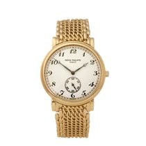 Patek Philippe Calatrava Yellow gold 33mm White Arabic numerals United Kingdom, Bishop's Stortford