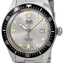 Oris Divers Sixty Five Steel Silver No numerals United States of America, New York, Brooklyn