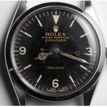 Rolex Explorer Acier 34mm Noir Arabes France, PARIS