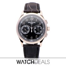 Patek Philippe Chronograph White gold 39.4mm Black Arabic numerals