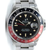 Rolex 16760 Steel GMT-Master II 40mm pre-owned United States of America, New York, New York