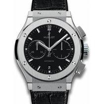 Hublot Classic Fusion Chronograph Titanium Black No numerals