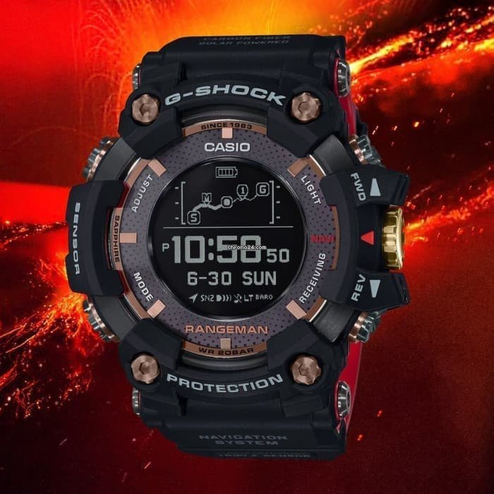 innovative design 70eb1 fbd83 Casio G-Shock Rangeman GPR-B1000TF-1 35-Anniversary Limited Edition