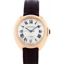 Cartier Clé de Cartier Rose gold 35mm Silver Roman numerals