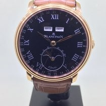 Blancpain Red gold 42mm Automatic 6639-3637-55b new