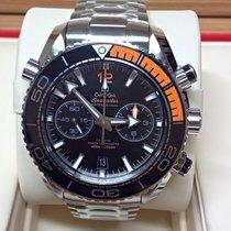 Omega Seamaster Planet Ocean Chronograph Steel 45.5mm Black No numerals United Kingdom, Wilmslow