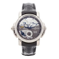 Ulysse Nardin Sonata White gold 42mm Grey No numerals United States of America, Pennsylvania, Bala Cynwyd