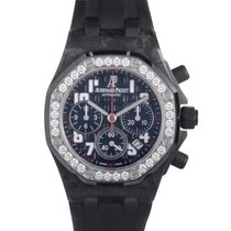 Audemars Piguet Carbon Automatic Black 37mm new Royal Oak Offshore Lady