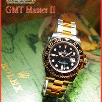 勞力士 GMT-Master II 金/鋼 40mm 黑色 無數字 臺灣, Kaohsiung