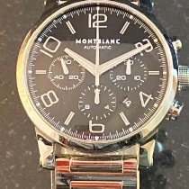 Montblanc pre-owned Automatic 43mm Black Sapphire Glass 3 ATM