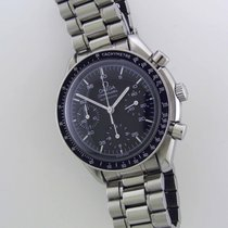 Omega Speedmaster Reduced Stahl 39mm Weiß