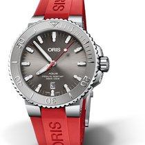 Oris 01 733 7730 4153-07 4 24 66EB Steel 2020 Aquis Date 43.5mm new