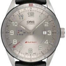 Oris Steel Automatic Silver 44,00mm new Audi Sport