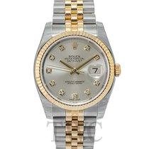勞力士 Datejust 新的 自動發條 附正版包裝盒和原版文件的手錶 116233 G