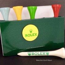 Rolex Golf Wooden Tees - Set Of 5 Packs Of 5 Tees