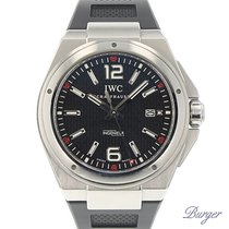 IWC Ingenieur Automatic Steel 46mm Black Arabic numerals