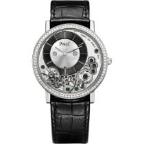 Piaget Altiplano White gold 38mm Grey No numerals United States of America, New York, NEW YORK