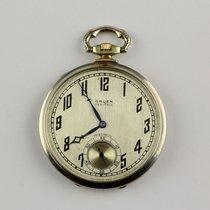 Gruen Watch & Co. Feine Schweizer Art Deco Taschenuhr 14k Gold...