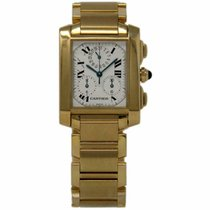 Cartier W50005R2 Yellow gold 2001 Tank Française 28mm pre-owned United States of America, Florida, 33132