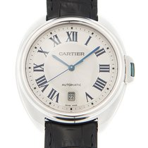 Cartier Clé de Cartier Белое золото 40mm Белый