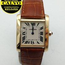 Reloj cartier de oro mujer