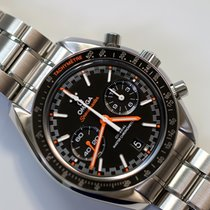 Omega Speedmaster Racing Steel 44.25mm Black No numerals