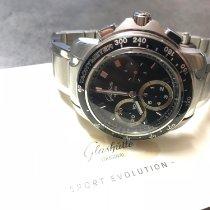 Glashütte Original Sport Evolution Chronograph Stahl 42mm Schwarz Deutschland, Burladingen