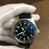 IWC Pilot Mark Steel 40mm Black Arabic numerals United States of America, Texas, Garland