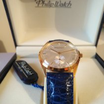 Philip Watch Or jaune 33mm Remontage manuel nouveau